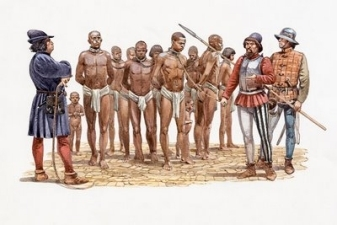 Zuckerrohr und Sklaverei